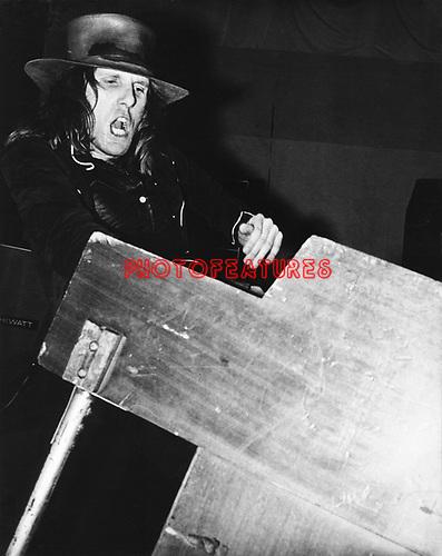 ELP 1971 Keith Emerson<br /> © Chris Walter