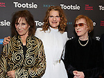 """Michele Lee, Sandra Bernhard and Carol Burnett attends the Broadway Opening Night of """"Tootsie"""" at The Marquis Theatre on April 22, 2019  in New York City."""