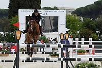 10th September 2021; Circo Massimo Stadium Rome, Italy; Longines Global Equestrian Champions Tour:  Denis Lynch