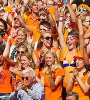16-09-12, Netherlands, Amsterdam, Tennis, Daviscup Netherlands-Suisse, Dutch Fans