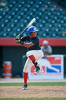 Darol Garcia (5) during the Dominican Prospect League Elite Underclass International Series, powered by Baseball Factory, on August 1, 2017 at Silver Cross Field in Joliet, Illinois.  (Mike Janes/Four Seam Images)
