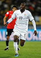 Jozy Altidore of USA. USA defeated Egypt 3-0 during the FIFA Confederations Cup at Royal Bafokeng Stadium in Rustenberg, South Africa on June 21, 2009.