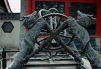 China, Peking, im alten Observatorium