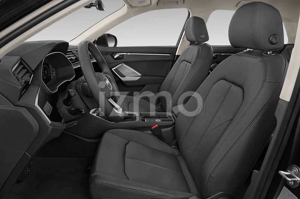 Front seat view of 2019 Audi Q3 Advanced 5 Door SUV