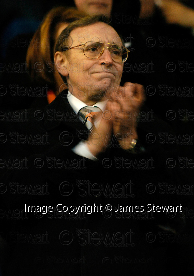 05/02/2005  Copyright Pic : James Stewart.File Name : jspa16_qots_v_dundee_utd.DUNDEE UTD CHAIRMAN EDDIE THOMSON LOOKS HAPPY AT THE END OF THE SCOTTISH CUP 4TH ROUND CLASH AGAINST QUEEN OF THE SOUTH...Payments to :.James Stewart Photo Agency 19 Carronlea Drive, Falkirk. FK2 8DN      Vat Reg No. 607 6932 25.Office     : +44 (0)1324 570906     .Mobile   : +44 (0)7721 416997.Fax         : +44 (0)1324 570906.E-mail  :  jim@jspa.co.uk.If you require further information then contact Jim Stewart on any of the numbers above.........A
