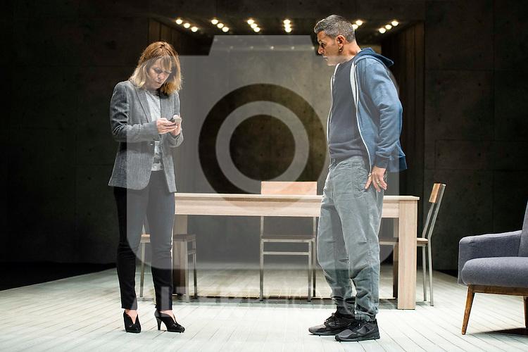 "Maria Adanez and Roberto Enriquez during the theater play of ""El Pequeño Poni"" at Teatro Bellas Artes in Madrid. August 16, Spain. 2016. (ALTERPHOTOS/BorjaB.Hojas)"
