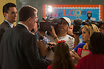 Houston ISD Superintendent Dr. Terry Grier talks with media during the first day of school at Shearn Elementary School, August 25, 2014.