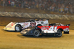 Sep 12, 2010; 12:04:39 AM; Rossburg, OH., USA; The 40th annual running of the World 100 Dirt Late Models racing for the Globe trophy at the Eldora Speedway.  Mandatory Credit: (thesportswire.net)