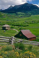 Old homestead on Hastings Mesa<br />