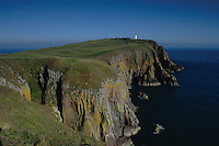 Mull of Galloway and the Mull of Galloway lighthouse, Galloway<br /> <br /> Copyright www.scottishhorizons.co.uk/Keith Fergus 2011 All Rights Reserved