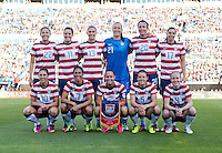 USWNT starting XI.  The USWNT defeated Scotland, 4-1, during a friendly at EverBank Field in Jacksonville, Florida.