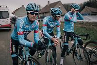 Kevin Pauwels (BEL/Marlux-Bingoal) in his new colours pre-recon<br /> <br /> Elite Men's Race<br /> GP Sven Nys / Belgium 2018