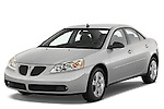Front three quarter view of a 2008 Pontiac G6 Sedan GT.