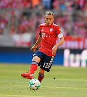 12.05.2018, Football 1. Bundesliga 2017/2018, 34.  match day, FC Bayern Muenchen - VfB Stuttgart, in Allianz-Arena Muenchen.  Rafinha (FC Bayern Muenchen). *** Local Caption *** © pixathlon<br /> <br /> +++ NED + SUI out !!! +++<br /> Contact: +49-40-22 63 02 60 , info@pixathlon.de