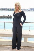 Brooke Hogan lors du photocall de THE FASHION HERO pendant le MIPTV a Cannes, le lundi 3 avril 2017.