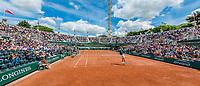 Paris, France, 4 June, 2017, Tennis, French Open, Roland Garros, Court nr.1<br /> Photo: Henk Koster/tennisimages.com