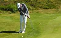 140719 | The 148th Open - Sunday Practice<br /> <br /> Jason Day chips onto the 12th green during practice for the 148th Open Championship at Royal Portrush Golf Club, County Antrim, Northern Ireland. Photo by John Dickson - DICKSONDIGITAL