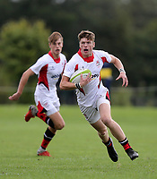 Saturday 8th September 2018 | Ulster U19s vs Connacht U19s<br /> <br /> Conor Rankin during the U19 Inter-Pro between Ulster and Connacht at Bangor Grammar School, Bangor, County Down, Northern Ireland. Photo by John Dickson / DICKSONDIGITAL