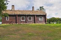 Where Linnaeus was born. The farm at Rashult where Linnaeus was born. Smaland region. Sweden, Europe.