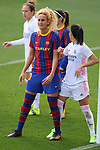 Liga IBERDROLA 2020-2021. Jornada: 18.<br /> FC Barcelona vs R. Madrid: 4-1.<br /> Kheira Hamraoui vs Thaisa de Moraes.