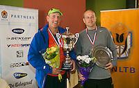 August 24, 2014, Netherlands, Amstelveen, De Kegel, National Veterans Championships, Tournament director  Thea Rietveld-Esser<br /> Photo: Tennisimages/Henk Koster