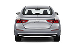 Straight rear view of a 2020 Honda Insight Touring 5 Door Hatchback stock images