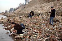 CHINA. Jiangxi Province.  Jiujiang. A woman washes her clothes in the Yangtze River. Jiujiang is a city of 4.6 million people, located on the southern shore of the Yangtze River. The Yangtze River is reported to be at its lowest level in 150 years as a result of a country-wide drought. It is China's longest river and the third longest in the world. Originating in Tibet, the river flows for 3,964 miles (6,380km) through central China into the East China Sea at Shanghai.  2008