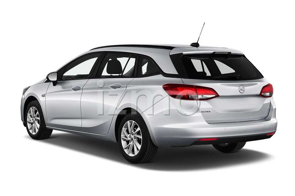 Car pictures of rear three quarter view of 2020 Opel Astra-Sport-Tourer Edition 5 Door Wagon Angular Rear
