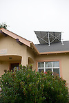 Solar Panels on Roof of Peach House
