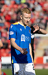 Aberdeen v St Johnstone…18.09.21  Pittodrie    SPFL<br />Ali Crawford<br />Picture by Graeme Hart.<br />Copyright Perthshire Picture Agency<br />Tel: 01738 623350  Mobile: 07990 594431