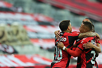 3rd July 2021; Arena da Baixada, Curitiba, Brazil; Brazilian Serie A, Athletico Paranaense versus Fortaleza; David Terans of Athletico Paranaense celebrates his goal in the 2nd minute 1-0