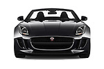 Car photography straight front view of a 2018 Jaguar F-Type Base 2 Door Convertible