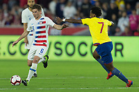 Orlando, FL - Thursday March 21, 2019: The men's national teams of the United States (USA) and Ecuador (ECU) play in an international friendly match at Orlando City  Stadium.