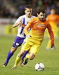 FC Barcelona's Cesc Fabregas during Spanish King's Cup match.October 30,2012. (ALTERPHOTOS/Acero)