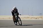 Domencio Pozzovivo (ITA) Team Qhubeka Assos during Stage 2 of the 2021 UAE Tour an individual time trial running 13km around  Al Hudayriyat Island, Abu Dhabi, UAE. 22nd February 2021.  <br /> Picture: Eoin Clarke | Cyclefile<br /> <br /> All photos usage must carry mandatory copyright credit (© Cyclefile | Eoin Clarke)