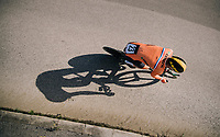 Pascal Eenkhoorn (NED)<br /> <br /> MEN UNDER 23 INDIVIDUAL TIME TRIAL<br /> Hall-Wattens to Innsbruck: 27.8 km<br /> <br /> UCI 2018 Road World Championships<br /> Innsbruck - Tirol / Austria