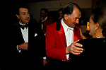 Old friends at party Warwickshire Hunt Ball celebrating the end of the fox hunting season held at Tysoe Manor Tysoe 1982 1980s UK