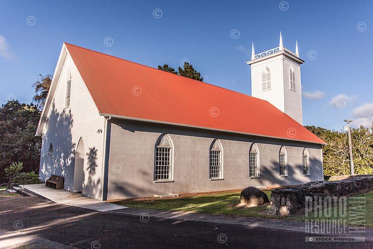 Kalahikiola Congregational Church, Kapa'au, Big Island.
