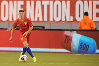 EAST RUTHERFORD, NJ - SEPTEMBER 7: Wil Trapp #6 of the United States kicks the ball during a game between Mexico and USMNT at MetLife Stadium on September 6, 2019 in East Rutherford, New Jersey.