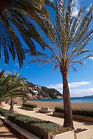 Spanien, Balearen, Ibiza, Srand von Cala de Sant Vincent