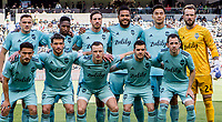 Los Angeles, CA - Friday April 21, 2019: Los Angeles Football Club defeated the Seattle Sounders FC 4-1 in a Major League Soccer (MLS) game at Banc of California stadium.