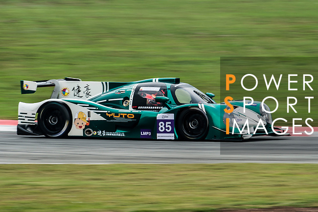 G-Print by Triple 1 Racing, #85 Ligier JSP3, driven by Hanss Lin and Julio Acosta in action during the Free Practice 1 of the 2016-2017 Asian Le Mans Series Round 1 at Zhuhai Circuit on 29 October 2016, Zhuhai, China.  Photo by Marcio Machado / Power Sport Images