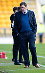 St Johnstone v Partick Thistle…28.04.18…  McDiarmid Park    SPFL<br />Tommy Wright turns away as Partick equalise<br />Picture by Graeme Hart. <br />Copyright Perthshire Picture Agency<br />Tel: 01738 623350  Mobile: 07990 594431