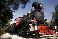 AJ3956, locomotive, train, Stone Mountain, Atlanta, Stone Mountain Park, Georgia, The engine of Stone Mountain Scenic Railroad train in Georgia's Stone Mountain Park near Atlanta in the state of Georgia.