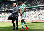 31.03.2019 Celtic v Rangers: Boyata injured