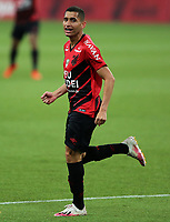 9th September 2020; Arena da Baixada, Curitiba, Brazil; Brazilian Serie A, Athletico Paranaense versus Botafogo; Ravanelli of Athletico Paranaense celebrates his goal in the 88th minute 1-1