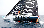 'West to East Ambrose Lighthouse to Lizard Point Under 60ft Single-Handed Monohull Record, Male'.Alex Thomson smashed the long standing trans-Atlantic sailing record just ahead of the London Olympic 2012 Opening Ceremony..The Gosport round-the-world yachtsman set sail alone from Ambrose Lighthouse off New York on Tuesday, July 17, and is reached Lizard Point, off Falmouth. more than a day ahead of the cut off to beat the single-handed Atlantic record set by Bernard Stamm (10 days, 55 minutes and 19 seconds).