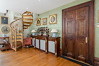 """BNPS.co.uk (01202) 558833. <br /> Pic: Hamptons/BNPS<br /> <br /> """"The living room of this property, number 12, was the billiard room which was where he used to hang all his paintings until he took them from this room down to the Tate Gallery.<br /> """"So in very unofficial terms this was the Tate Gallery before the gallery opened.""""<br /> <br /> A grand mews house that was home to Henry Tate's art collection before he gifted it to the Tate Gallery is on the market for £1.8m.<br /> <br /> Henry Tate Mews is part of the former mansion that belonged to the sugar merchant in the late 1800s for 25 years.<br /> <br /> What is now an impressive Grade II* listed double height reception room was his billiard room where he displayed famous Pre-Raphaelite works of art including John Everett Millais' Ophelia.<br /> <br /> The five-bedroom house, which is on the market with Hamptons, also has shared access to the beautiful six acres of gardens that include an orchard, folly and a listed grotto."""