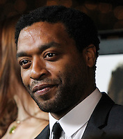 """LOS ANGELES, CA - OCTOBER 14: Actor Chiwetel Ejiofor arrives at the """"12 Years A Slave"""" Los Angeles Premiere held at Directors Guild Of America on October 14, 2013 in Los Angeles, California. (Photo by Xavier Collin/Celebrity Monitor)"""
