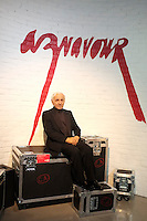 October 24, 2013 -  Opening  of  the  Grevin Montreal Museum - Charles Aznavour